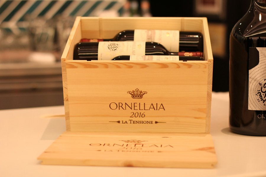 Ornellaia wooden crate